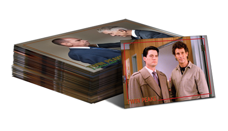 2019 Twin Peaks Archives Trading Cards - Base Set (72 Cards)
