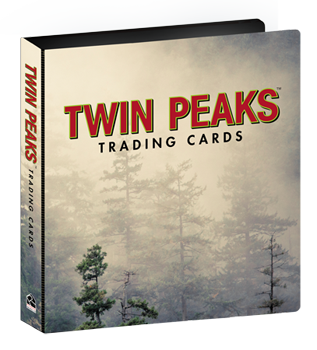 Twin Peaks Trading Cards - Collectors Album