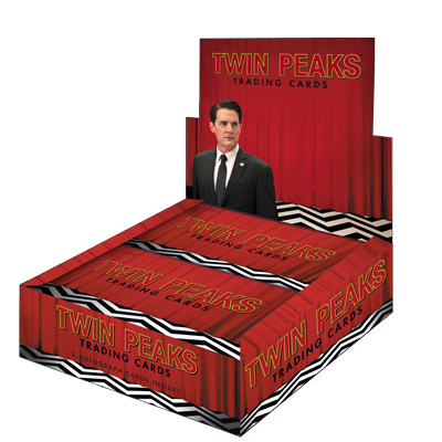 Twin Peaks Trading Cards - Box of Cards (24 Packs)