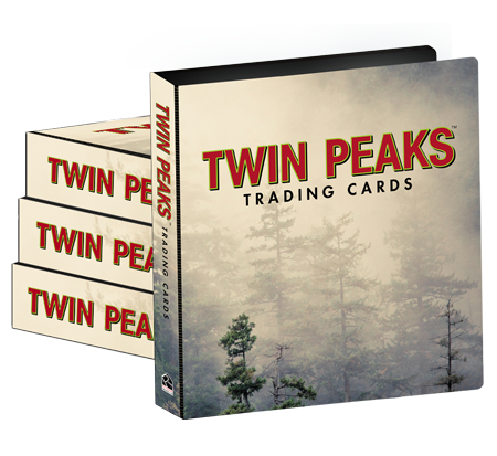 Twin Peaks Trading Cards - Case of Albums (4)