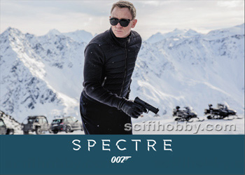2016 James Bond Archives - Spectre Edition Promo Card P1