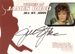 Jill St. John as Tiffany Case in <U><I>Diamonds Are Forever</I></U>