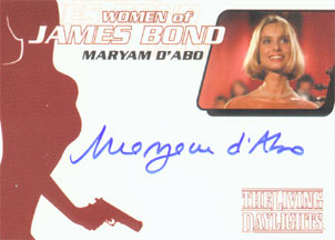 Maryam d`Abo as Kara Milovy in <U><I>The Living Daylights</I></U>