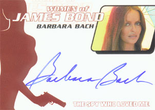 Barbara Bach as Major Anya Amasova in <U><I>The Spy Who Loved Me</I></U> <FONT COLOR=`RED`>(Limited)</FONT>
