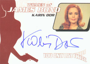 Karin Dor as Helga Brandt in <U><I>You Only Live Twice</I></U>