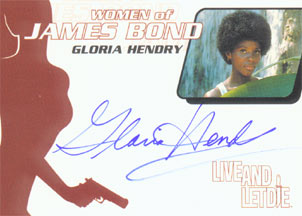 Gloria Hendry as Rosie Carver in <U><I>Live and Let Die</I></U>