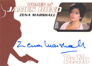 Zena Marshall as Miss Taro in <U><I>Dr. No</I></U>