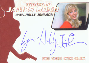 Lynn-Holly Johnson as Bibi Dahl in <U><I>For Your Eyes Only (Binder Exclusive)</I></U>
