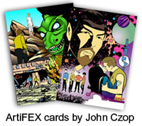 Sample ArtiFEX cards