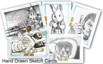 Sample SketchaFEX cards