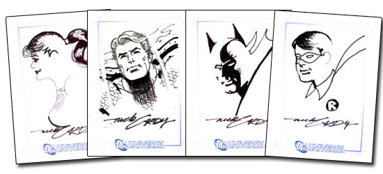 Sample Nick Cardy Sketches