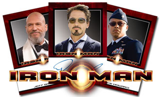 Iron Man Autograph Cards