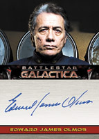 Edward James Olmos autograph card