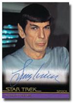 Leonard Nimoy Autograph Card