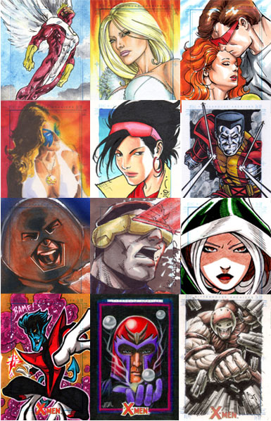 Sample Sketch Cards