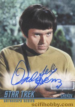 Star Trek Captain/'s Collection Louise Sorel William Shatner Dual Autograph QTY