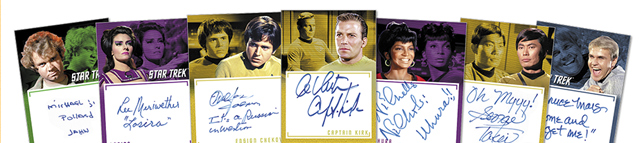 Star Trek TOS Archives /& Inscriptions Base Card #2 Variant 13