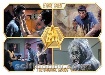 Star Trek Original Series 50th Anniversary Case Topper Alternate Card 40a TOS