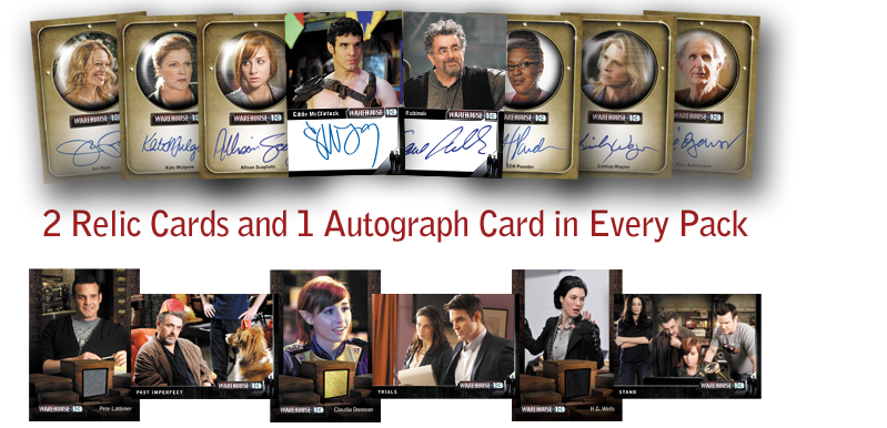warehouse 13 season 3 trading cards rittenhouse archives