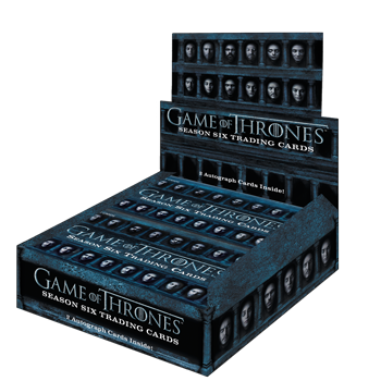 2017 Game of Thrones Season 6 - Box of Cards (24 Packs)