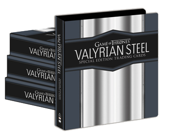 2017 Game of Thrones Valyrian Steel Case of Albums (4)