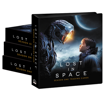 Lost In Space (Netflix) Season One Case of Albums (4)