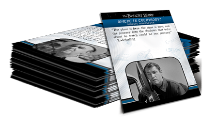 2019 Twilight Zone Trading Cards - Base Set (156 Cards)
