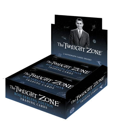 2019 Twilight Zone Trading Cards Box of Cards (24 Packs)