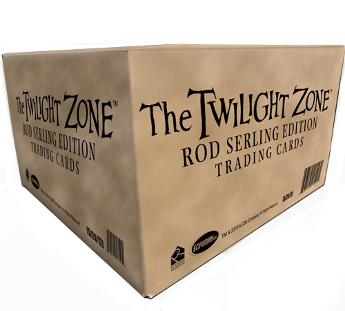 2019 Twilight Zone Trading Cards Case of Cards (12 boxes)