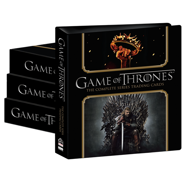 2020 Game of Thrones Complete Trading Cards Album Case (4)