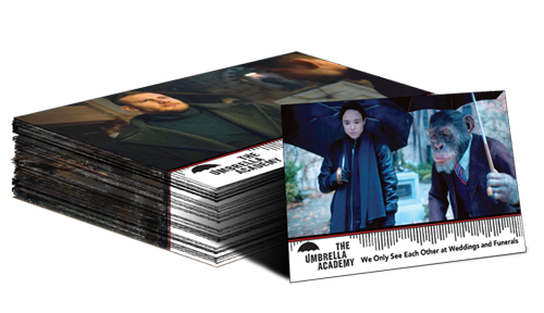 The Umbrella Academy Season 1 Trading Cards - Base Set