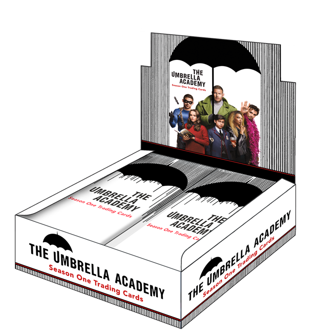 The Umbrella Academy Season 1 Trading Cards - Box (24 Packs)