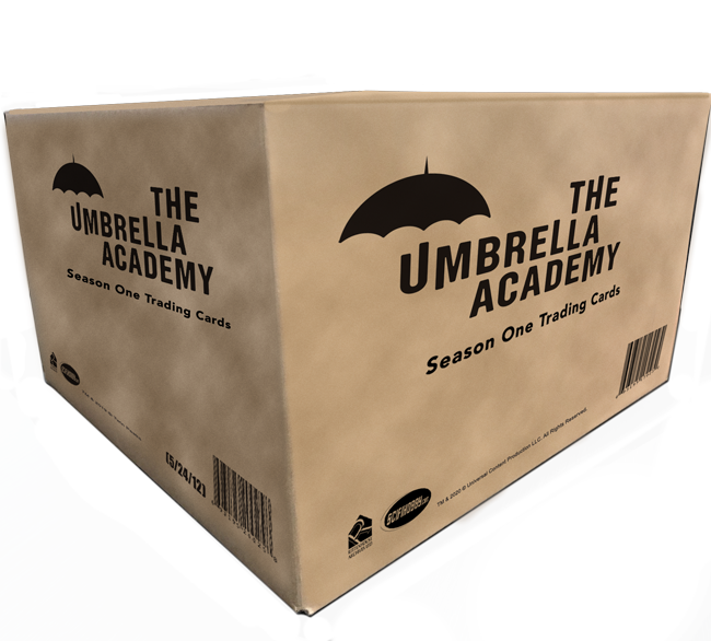 The Umbrella Academy Season 1 Trading Cards - Case (12 Boxes