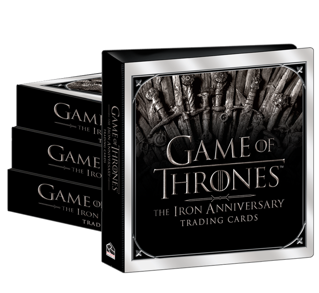 2021 Game of Thrones Iron Anniversary Case of Albums (4)