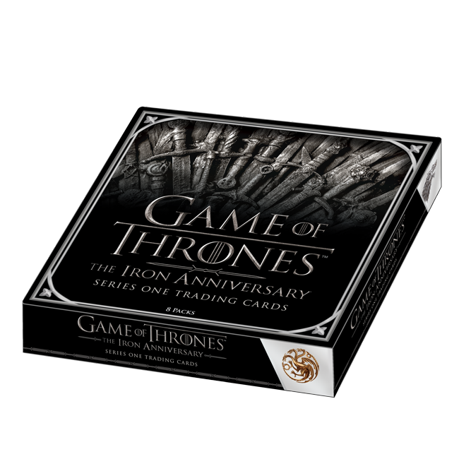 2021 Game of Thrones Iron Anniversary S1 Box of Cards