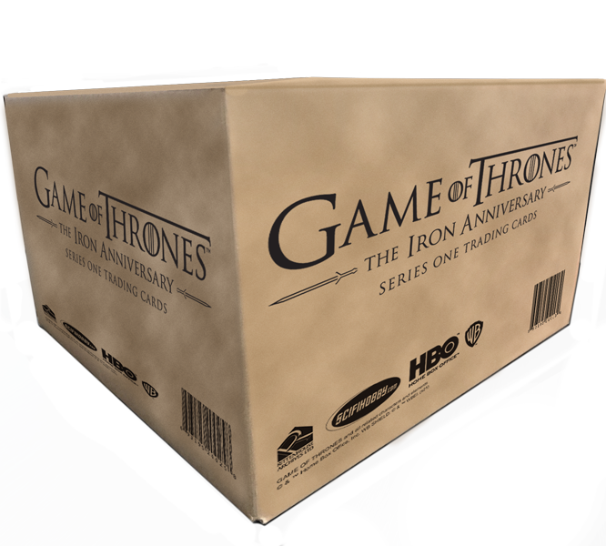 2021 Game of Thrones Iron Anniversary S1 Case of Cards