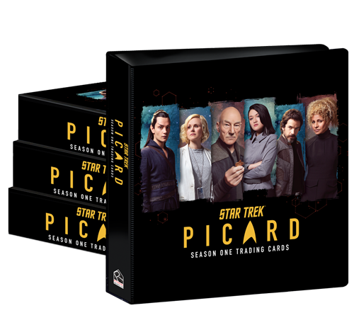 2021 Star Trek Picard Season 1 - Case of Albums (4)