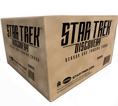 2019 Star Trek Discovery Season 1 - Case of Cards (12 Boxes)