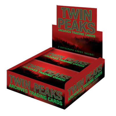 2019 Twin Peaks Archives Trading Cards - Box (24 Packs)