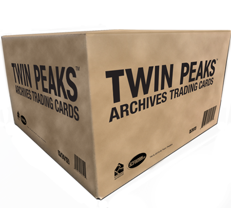 2019 Twin Peaks Archives Trading Cards - Case (12 Boxes)