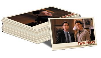 Twin Peaks Trading Cards - Base Set (90 cards)
