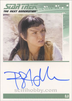 Pamela Adlon as Oji TNG Autograph Card