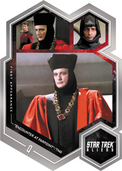 2014 Star Trek Aliens First Apperance Q - FA10