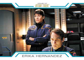 Women of Star Trek In Command - Captain Hernandez
