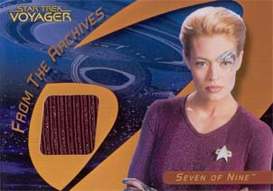 Star Trek 40th Anniv Seven of Nine Costume Card C25A