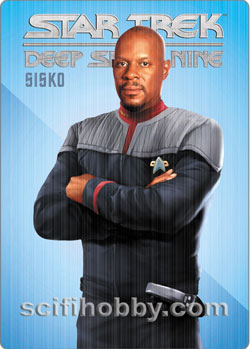 Star Trek DS9 Sisko Metal Card