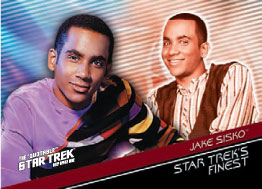 Star Fleets Finest Card F10 from Quotable Deep Space Nine