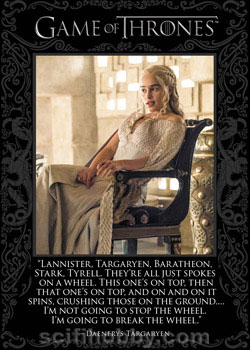 Game of Thrones Quotable Card Q50