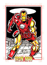 Bob Layton Sketch Card
