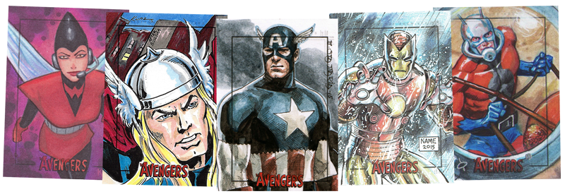 2015 Marvel S The Avengers Silver Age Trading Cards Rittenhouse Archives